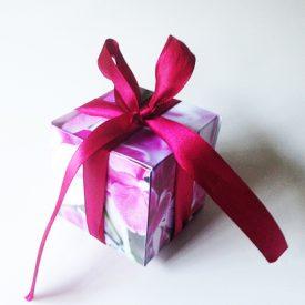 Digitala stämplar och bilder för scrapbooking - orkidebox
