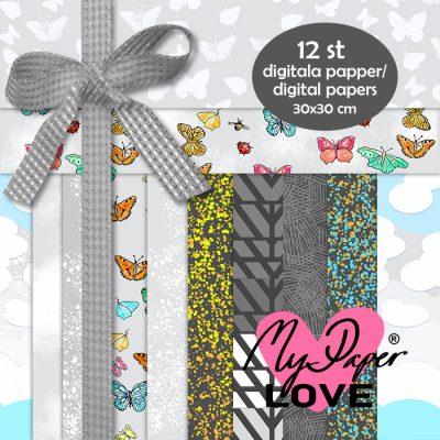 Digitala papper grå