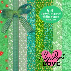 Digital green paper for card production
