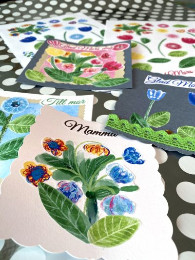 Pictures for Mother's Day card making